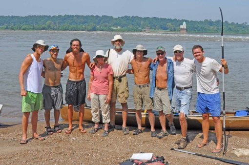 2.5_Beards,_Mississippi_River_Adventure,_Big_Muddy_Mike_and_MRV_meet_up